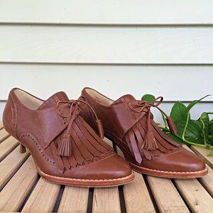 Anthro Plenty by Tracy Reese Tassel Boot Heels